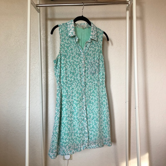 Lucca Couture Dresses & Skirts - Green floral babydoll